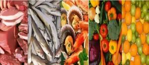 Los alimentos sanos de una dieta paleolitica