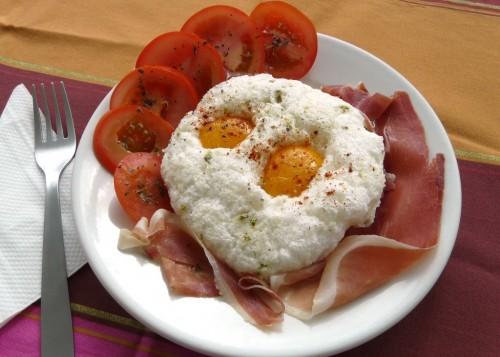 Huevos en cesta