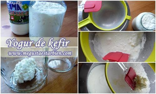 yogur de kefir receta