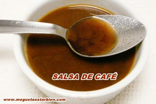 Salsa de cafe