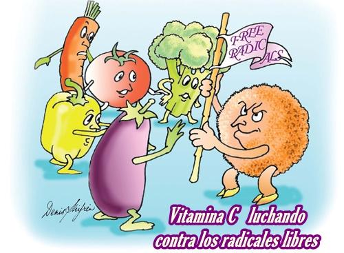 Vitamina C radicales libres
