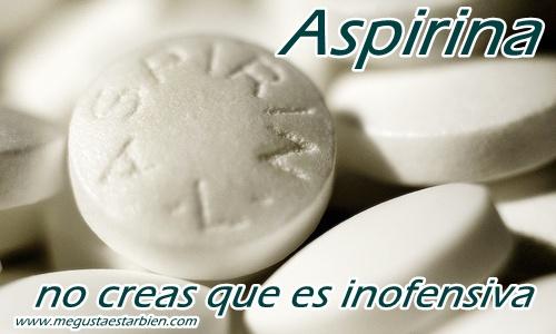 ASPIRINA no es inofensiva
