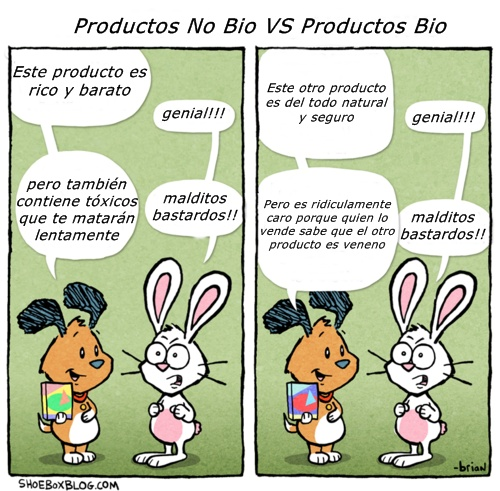 productos bio vs productos no bio