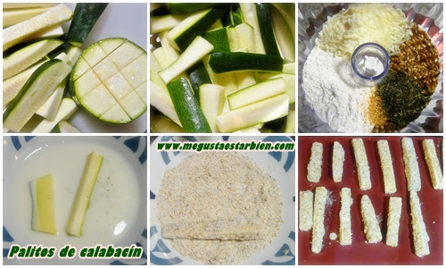 receta palitos de calabacin