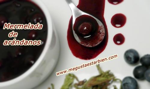 sin azúcar Mermelada de arandanos