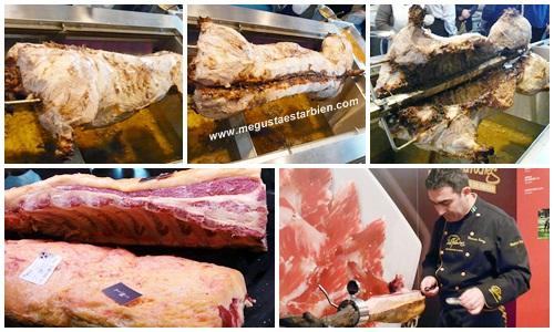 Carne jamon forun gastronomico