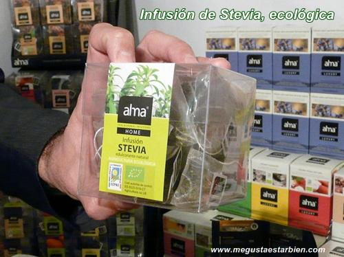 infusion stevia alma