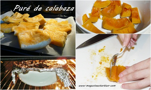 Receta pure de calabaza
