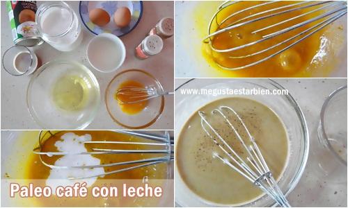 receta paleo cafe con leche
