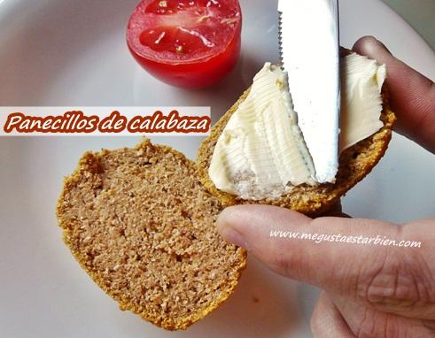 Desayuno panecillos calabaza