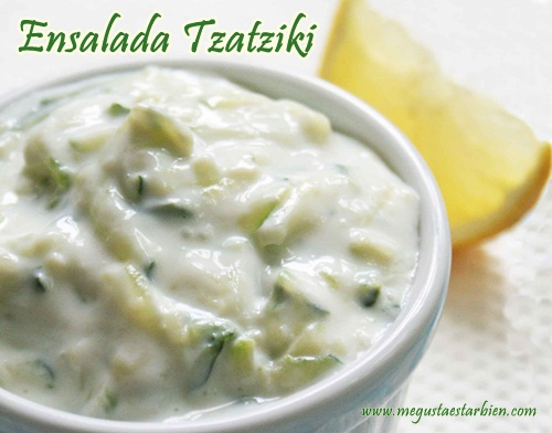 Ensalada Tzatziki