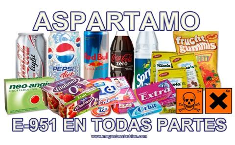 aspartamo en todas partes