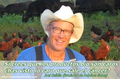 joel salatin precio del cancer