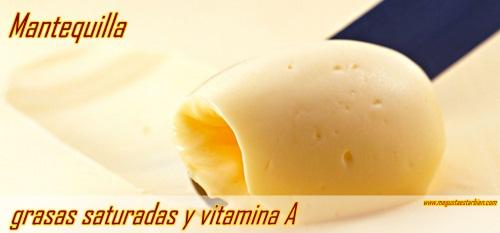 mantequilla nutricion