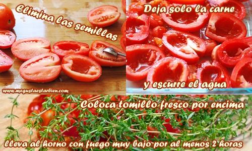 receta tomate asado