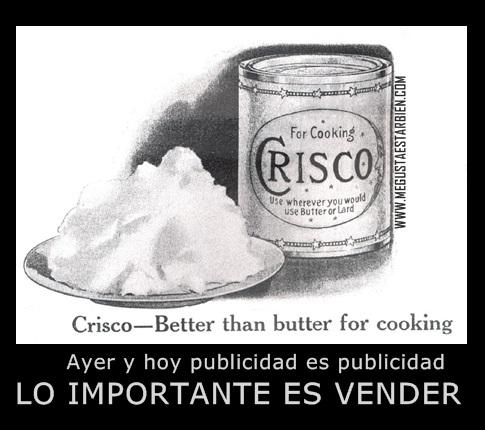 PUBLICIDAD CRISCO