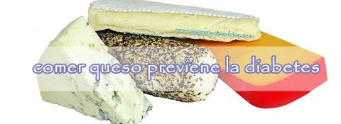 come queso previene diabetes