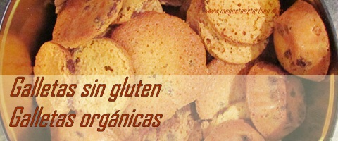 galletas sin gluten