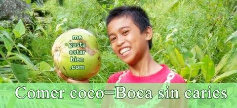 aceite de coco y salud dental