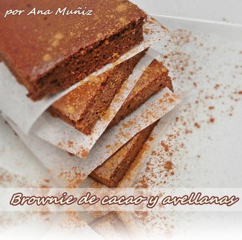Brownie sin gluten y sin azucar