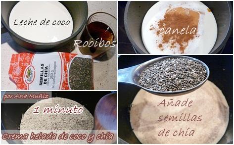 receta coco y chia