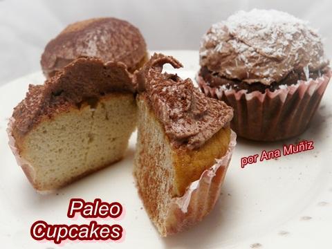 paleo cupcakes vainilla chocolate