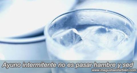 ayuno agua