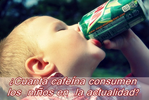 niños y cafeina