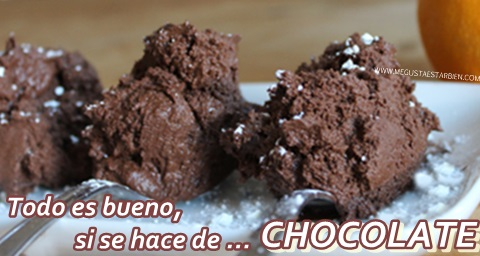 manten la calma y come chocolate