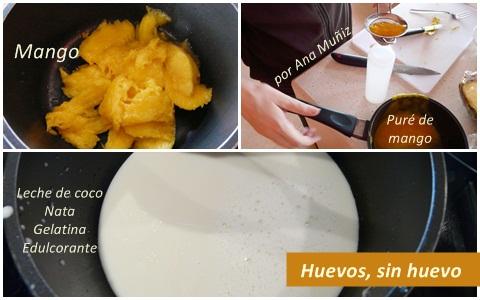 receta huevos sin huevo