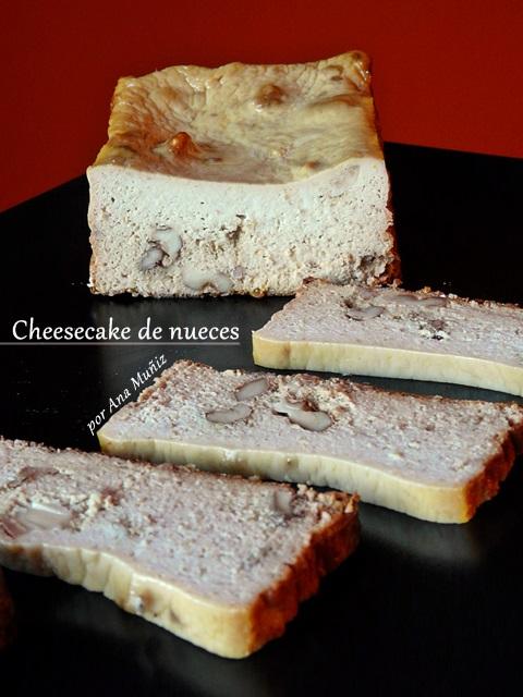 Cheesecake de nueces