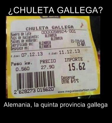 chuleta gallega