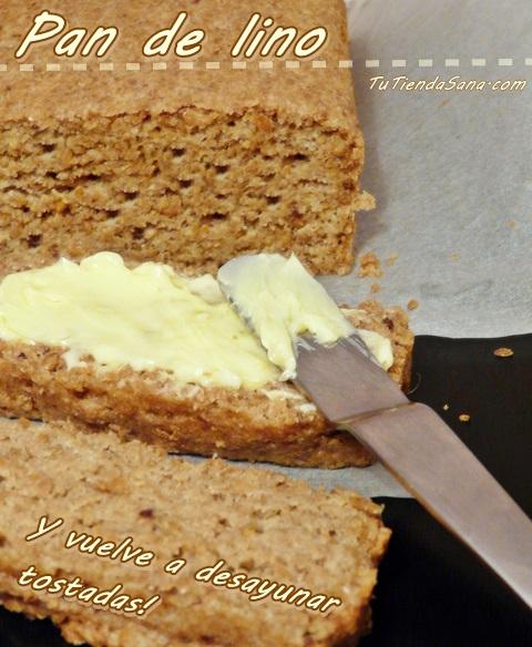 Receta pan de semillas de lino