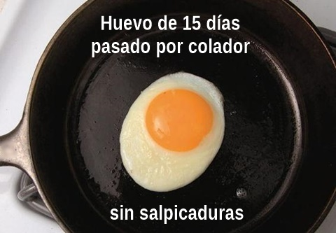 huevo perfecto