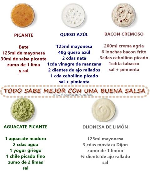 mayonesas diferentes