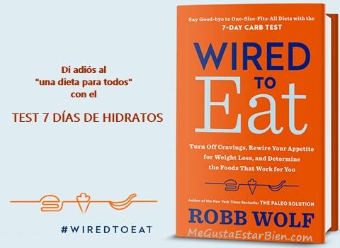 reseña del libro de robb wolf y test de hidratos