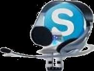 icono que indica consulta por skype