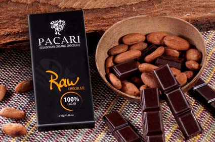 chocolate pacari raw100