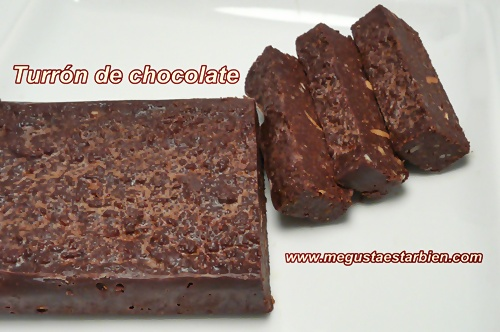 paleo turron de chocolate