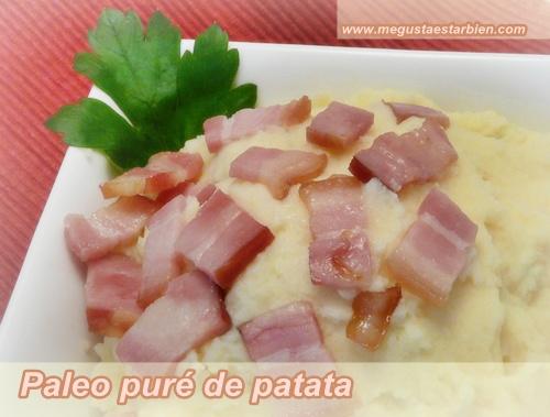 paleo pure de patatas
