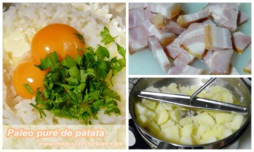 receta pure de patatas