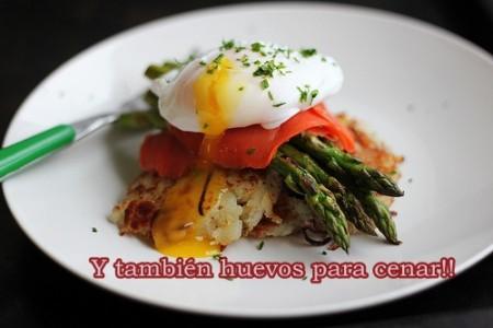 Huevos cena