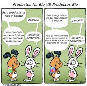 productos bio vs productos no bio