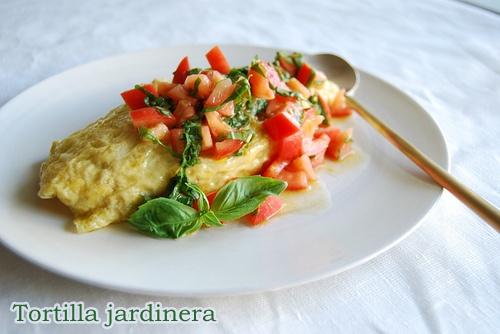 tortilla jardinera