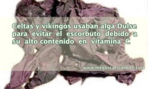 alga dulse gran fuente de vitamina C