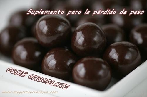 CHOCOLATE PARA PERDER PESO