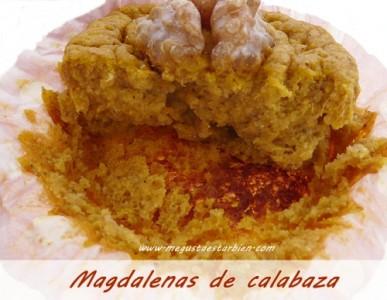 magdalenas de calabaza sin gluten