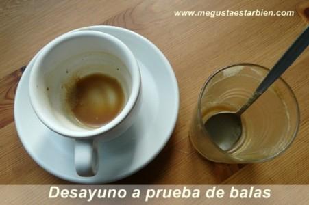 desayuno cafe mantequilla