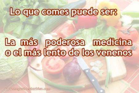 lo que comes