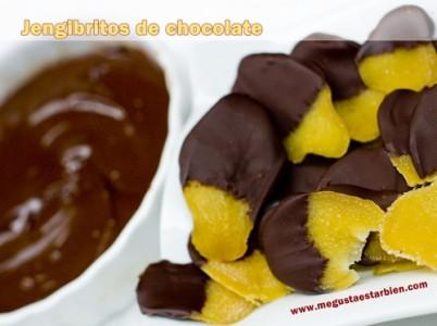 Jengibritos de chocolate
